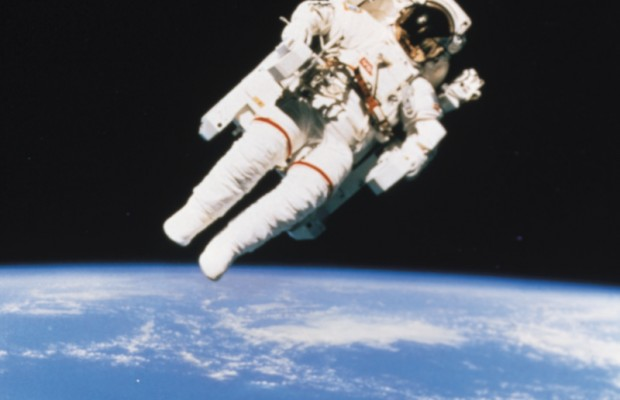 """Astronaut covers Bowie's Classic from the """"tin can."""""""