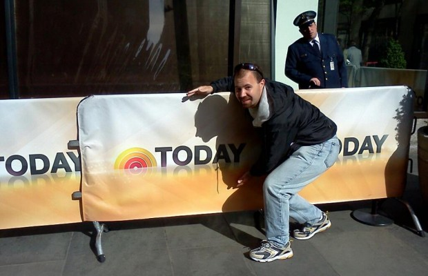 Those guys strike again on the Today Show!