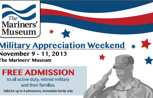 The Mariners' Museum's Military Appreciation Weekend